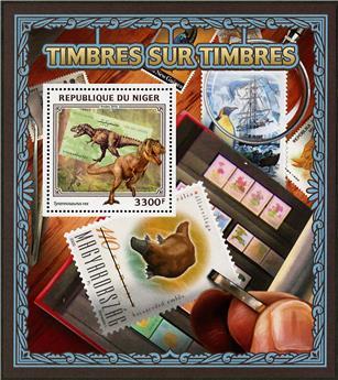 n° 632 - Timbre NIGER Blocs et feuillets