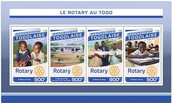 n° 5338 - Timbre TOGO  Poste