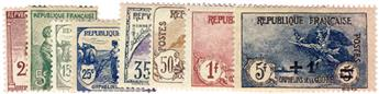 n°162/169* - Timbre France Poste