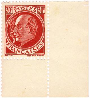 n°13* (MAYER) - Timbre France Libération (Pétain-Laval)