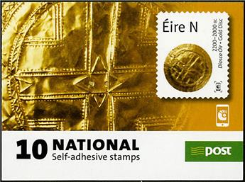n° C2192 - Timbre IRLANDE Carnets