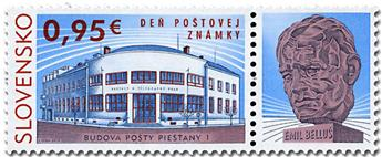 n° 707 - Timbre SLOVAQUIE Poste