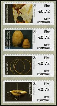 n° 87/90 - Timbre IRLANDE Timbres de distributeurs