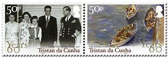 n° 1164 - Timbre TRISTAN DA CUNHA Poste