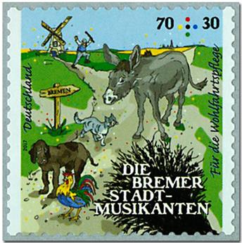 n° 3078 - Timbre ALLEMAGNE FEDERALE Poste