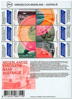 n° F3427-2 - Timbre PAYS-BAS Poste