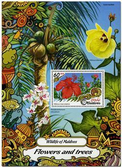 n° 1020 - Timbre MALDIVES Blocs et feuillets