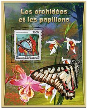 n° 1078 - Timbre CENTRAFRICAINE Blocs et feuillets