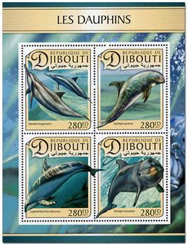 n° 1380 - Timbre DJIBOUTI Poste