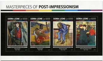 n° 6657 - Timbre SIERRA LEONE Poste