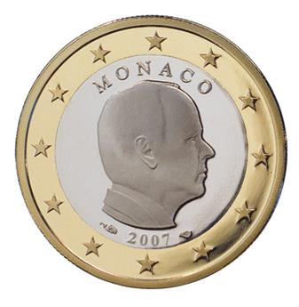€1 COINS 2007 : MONACO
