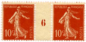 n°135**  - Timbre FRANCE Poste