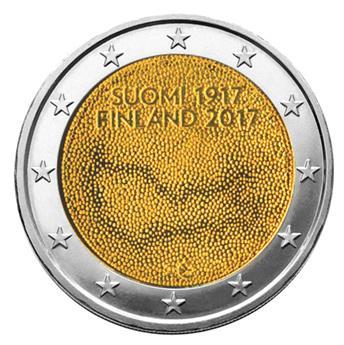 2 EURO COMMEMORATIVE 2017 : FINLANDE (100 ans indépendance)