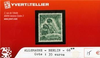 ALLEMAGNE BERLIN - n°66 **