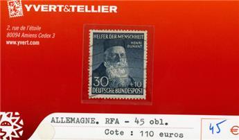 ALLEMAGNE FEDERALE - n°45 obl.