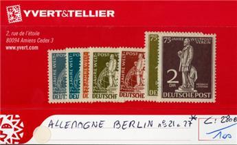 ALLEMAGNE BERLIN - n°21/27*