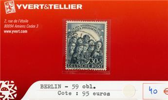 ALLEMAGNE BERLIN - n°59 obl.