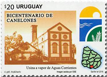 n° 2829 - Timbre URUGUAY Poste