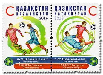 n° 759/760 - Timbre KAZAKHSTAN Poste