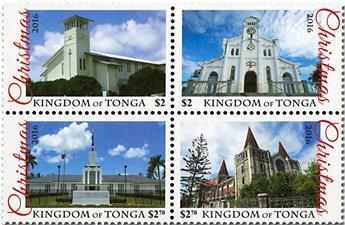 n° 1481/1483 - Timbre TONGA Poste