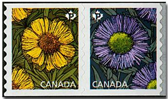 n° 3341/3342 - Timbre CANADA Poste