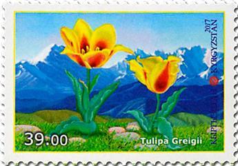 n° 731/732 - Timbre KIRGHIZISTAN (Poste Kirghize) Poste