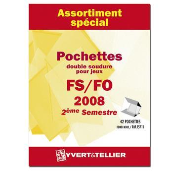 Assortiment de pochettes (double soudure) : 2008-2nd semestre