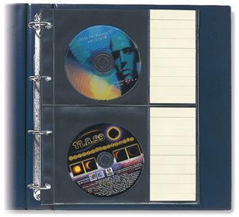 "FEUILLES ""COMPACT A4"" (CD-ROM) - SAFE® (x10)"