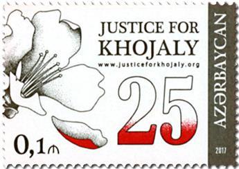 n° 948 - Timbre AZERBAIDJAN Poste