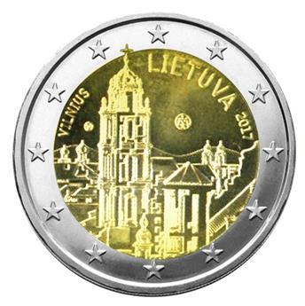 2 EURO COMMEMORATIVE 2017 : LITUANIE (Vilnius)