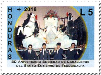 n° 1408/1414 - Timbre HONDURAS Poste aérienne