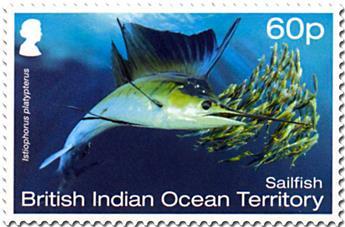 n° 514/519 - Timbre OCEAN INDIEN Poste