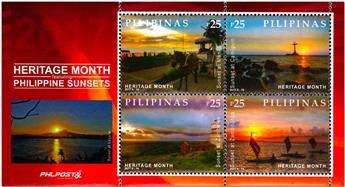 n° 376 - Timbre PHILIPPINES Blocs et feuillets