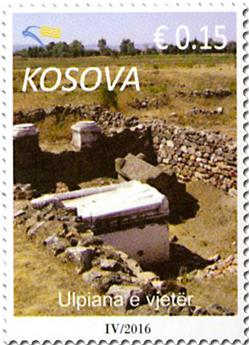 n° 229A - Timbre KOSOVO Poste
