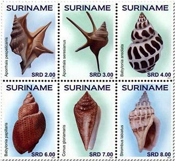 n° 2672/2673 - Timbre SURINAME Poste