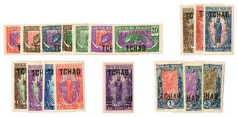 n°1/18* - Timbre TCHAD Poste