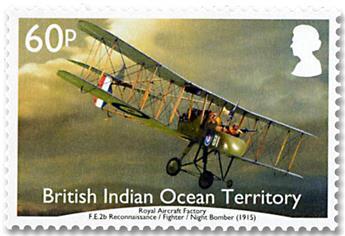 n° 508/513 - Timbre OCEAN INDIEN Poste