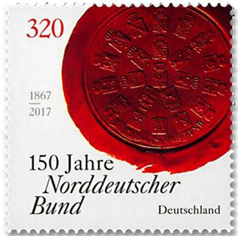 n° 3108 - Timbre ALLEMAGNE FEDERALE Poste