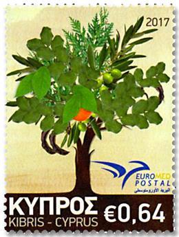 n° 1384 - Timbre CHYPRE Poste