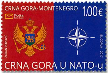 n° 405 - Timbre MONTENEGRO Poste