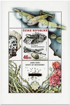 n° 61 - Timbre TCHEQUE (République) Blocs et feuillets