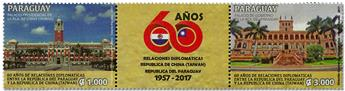n° 3263/3264 - Timbre PARAGUAY Poste