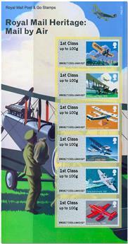 n° 130/135 - Timbre GRANDE-BRETAGNE Timbres de distributeurs