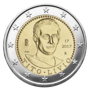 2 EURO COMMEMORATIVE 2017 : ITALIE (TITO LIVIO)