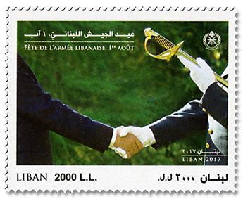 n° 577 - Timbre LIBAN Poste