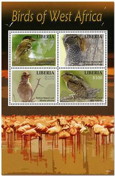 n° 5732/5735 - Timbre LIBERIA Poste