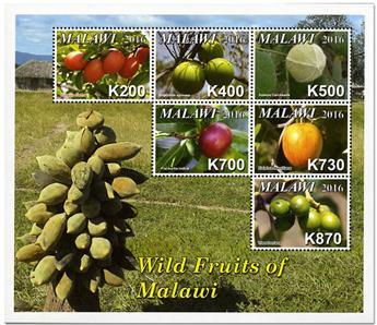 n° 856/861 - Timbre MALAWI Poste