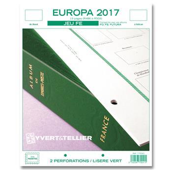 EUROPA FE : 2017 (jeux sans pochettes)
