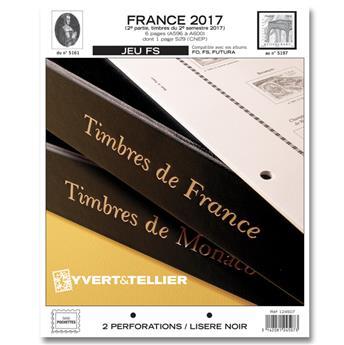 FRANCE FS : 2017 - 2E SEMESTRE (jeux sans pochettes)