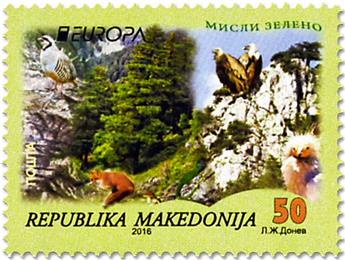 n° 720/721 - Timbre MACEDOINE Poste (EUROPA)